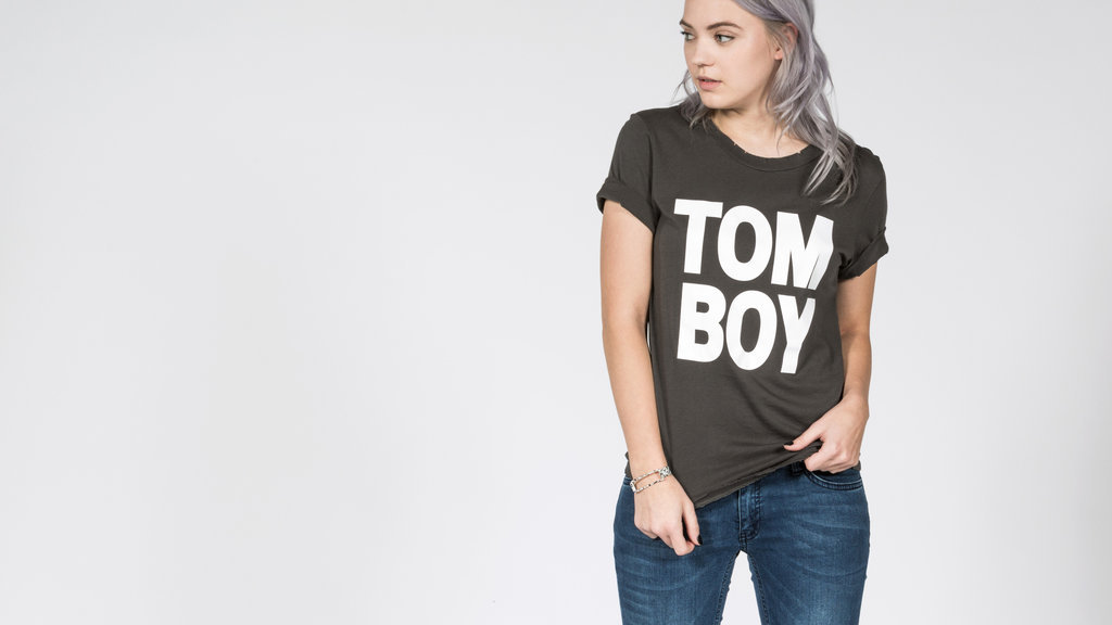 The ultimate tomboy tee by petals and peacocks