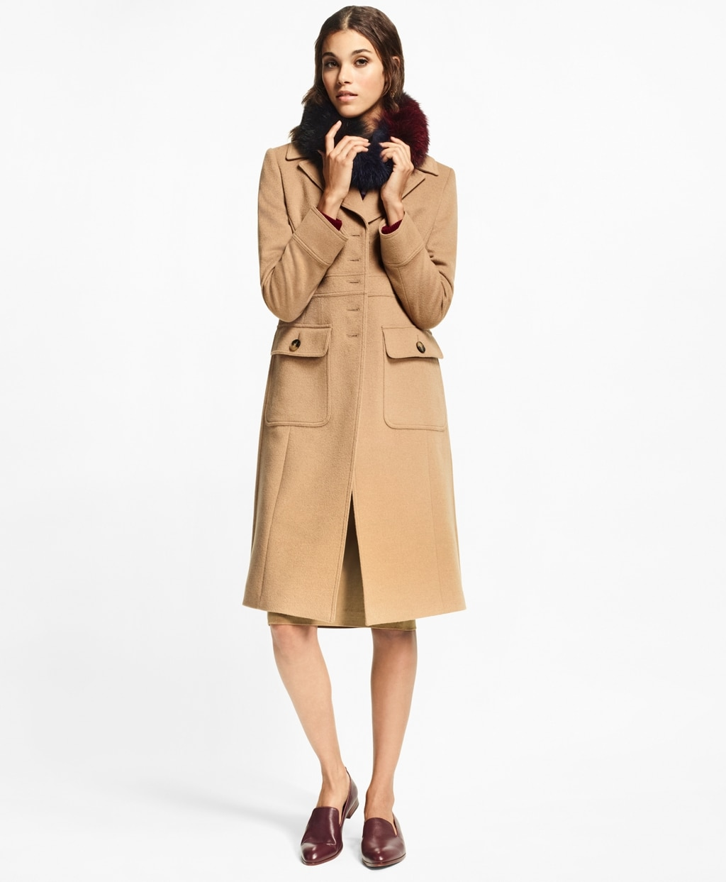 Camel Hair Polo Coat - Brooks Brothers