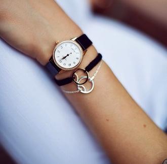 jewels beatuty watch bracelette silver ring beyonce