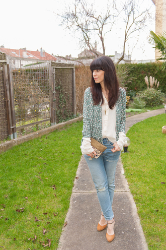punky b blogger jacket blouse
