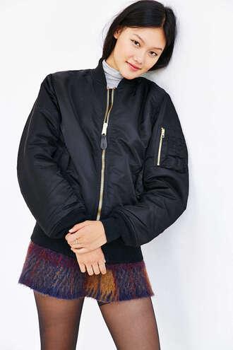 jacket black bomber jacket bomber jacket