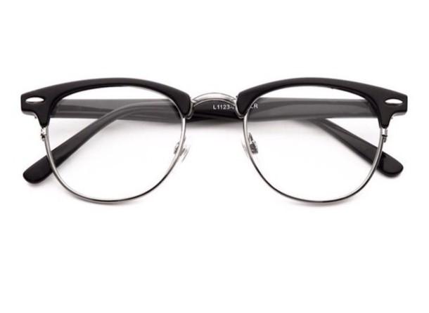 3cc4d4a3e sunglasses, round frame glasses, glasses, 80s style, black - Wheretoget