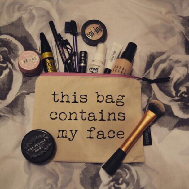 bag makeup bag make-up