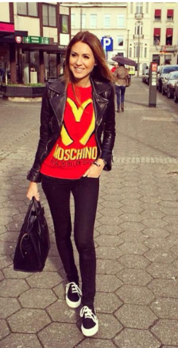 Moschino Mcdonalds T Shirt | www.pixshark.com - Images ...