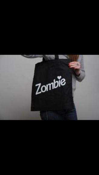 bag tote bag zombie cute barbie kawaii