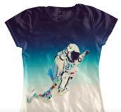 t-shirt,spaceman,digital print
