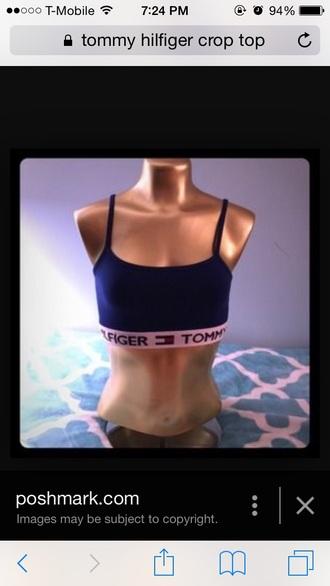 shirt tommy hilfiger vintage tommy hilfiger crop top