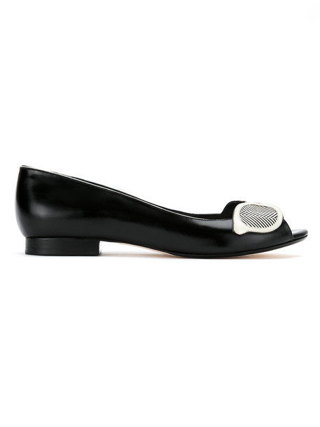 Sarah Chofakian women black shoes