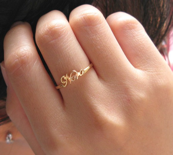 jewels rings name ring chic mom gift silver jewelry initial name ring memorial gift get well personal gifts birthday gifts friendship gifts letter word ring charm presents rings, tiger, silver, jewellery, vintage, hippie, indian personalized initial gift for mom