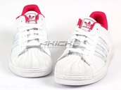 shoes,pink,white,adidas,superstar,orginal,like,wow,wauw,nice,sneakers,sneakers pink,i like it,beautiful,sexy,sweet,wauw nice,sneakers white,i like it sweet,beautiful shoes,style