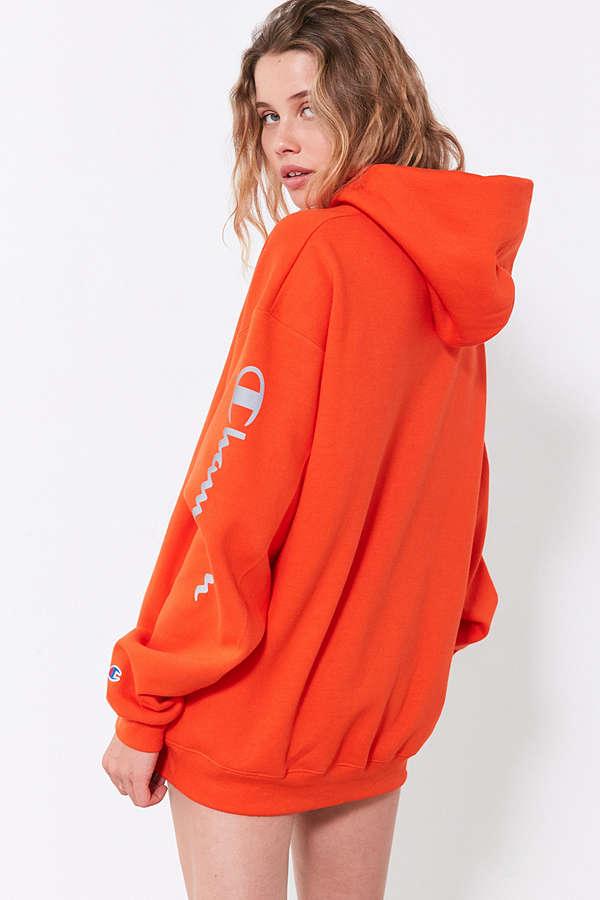 b1526144236 Champion UO Powerblend Reflective Hoodie Sweatshirt