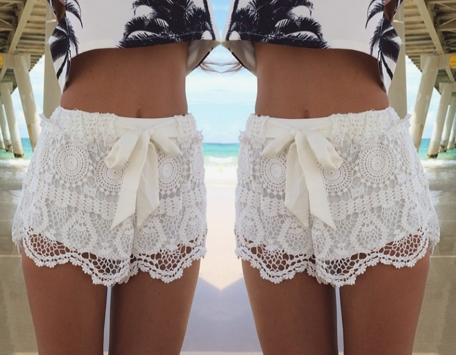 Lace fine fashion shorts my0107fy