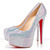 Christian Louboutins Daffodile 160 Aurora Boreale Pumps top sale$139 Authentic Reviews