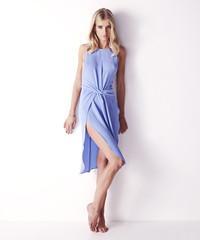 New wave wrap dress
