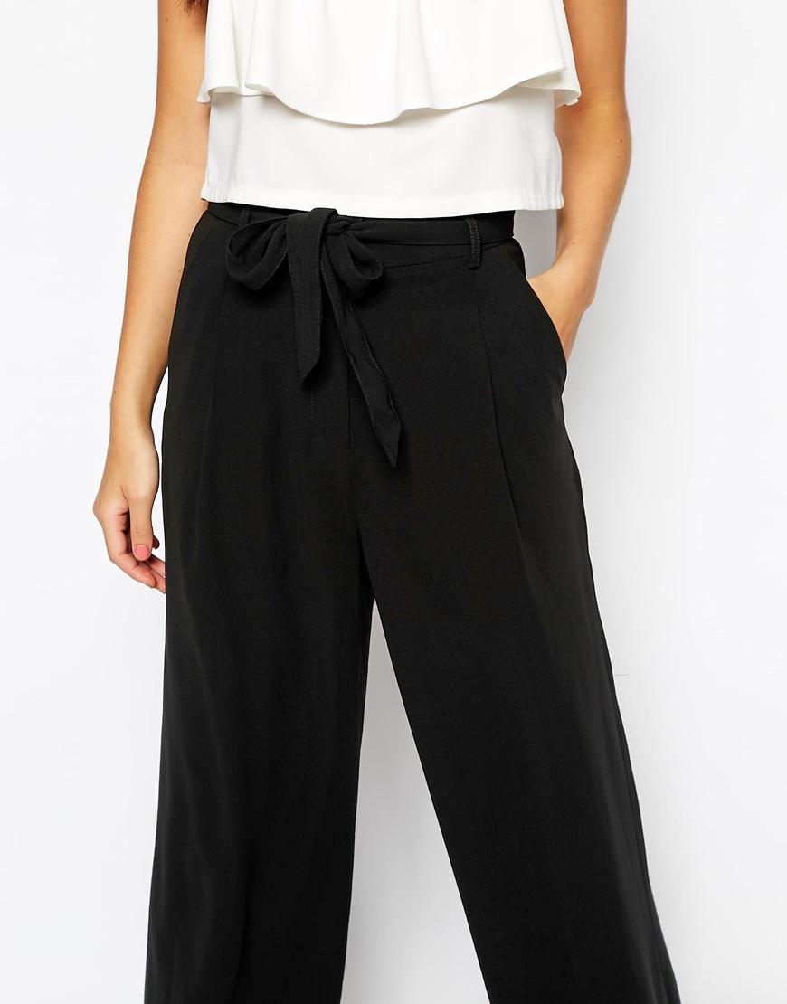 New look wideleg trouser at asos.com
