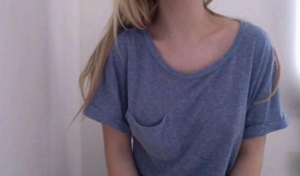 shirt t-shirt blue
