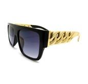 sunglasses,celine,dope,shades,glasses,gold,gold chain,chain,black