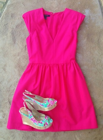 shoes wedges lily pulitzer dress
