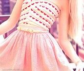 heart dress,dress