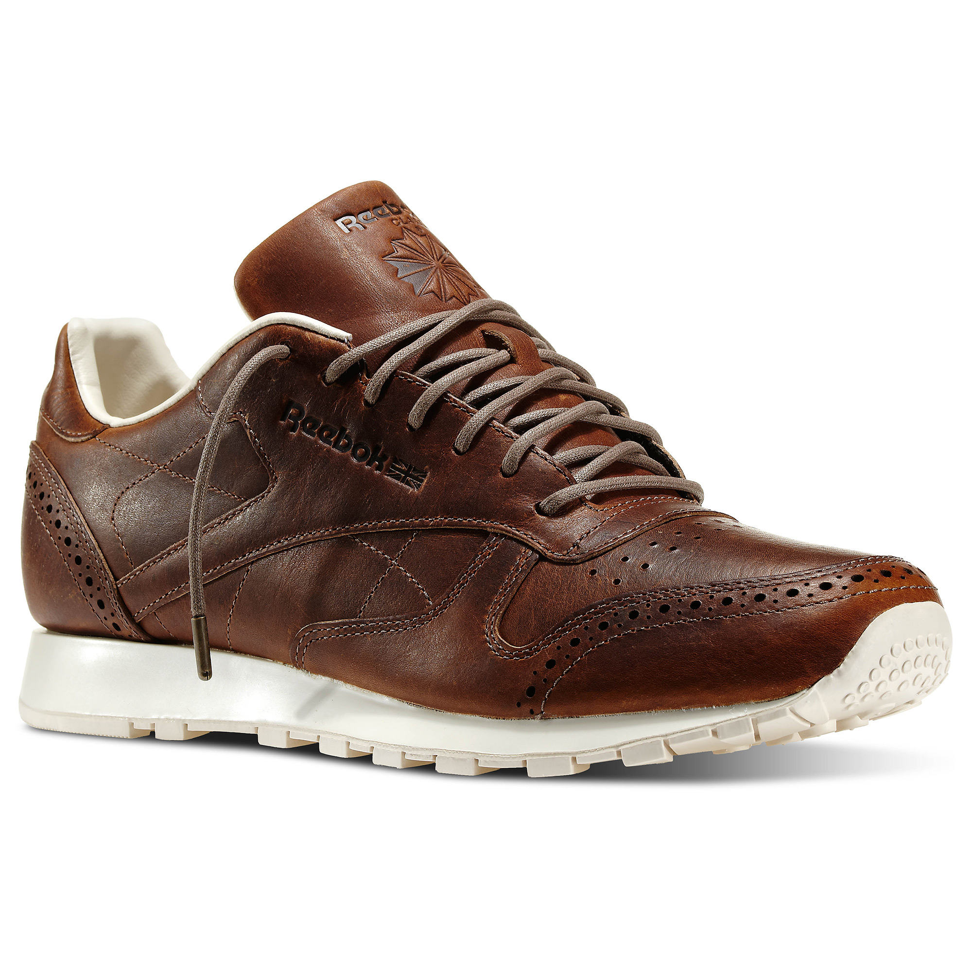 3fb7cf6aef190 Reebok Classic Leather Lux - Brown