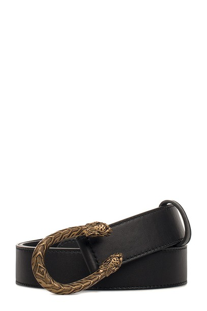 belt leather black black leather