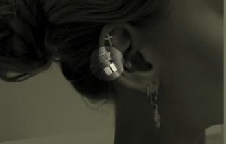 jewels piercing ear cuff earrings gold silver round