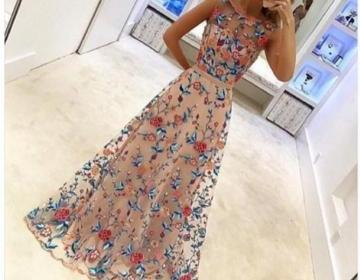2017 Hot Sale Floral Colorful A Lin..