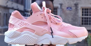 1eaff7f7ceece Rose Nike Air Huarache womens custom.