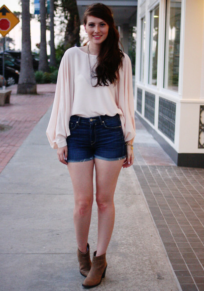 these days shoes shorts blouse
