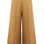 Contrast-stitch wide-leg cropped trousers