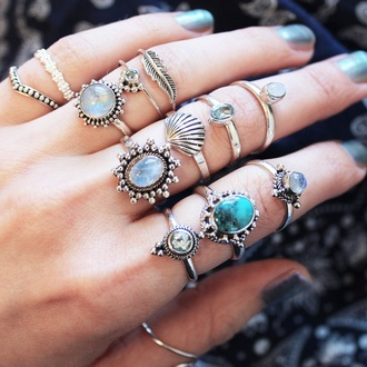 jewels ring boho boho jewelry knuckle ring silver silver ring silver jewelry jewelry boho chic bohemian