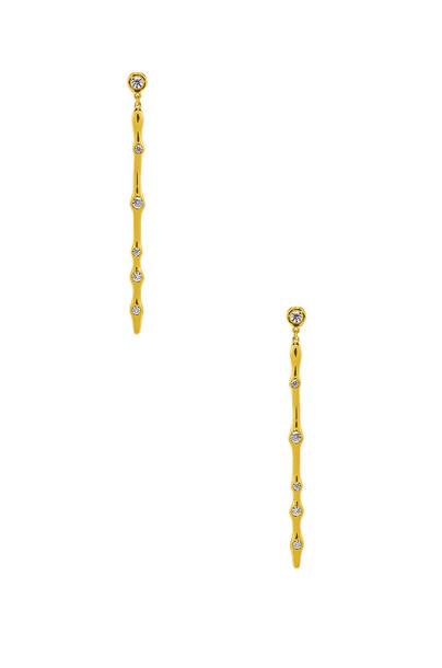 gorjana Josslyn Drop Earrings in gold / metallic