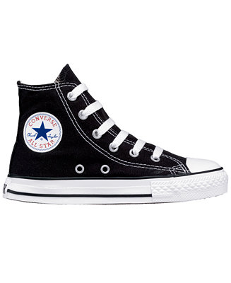 Converse Boy & Girl Chuck Taylor Hi-Top from Finish Line - Kids Finish Line Athletic Shoes - Macy's