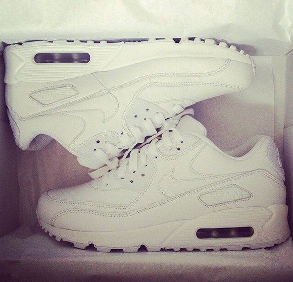 shoes leather white nike sneakers
