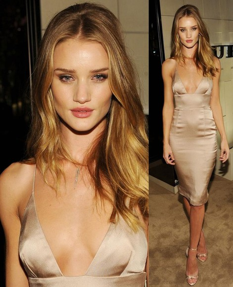 dress rosie huntington-whitley