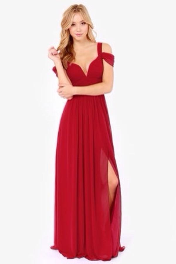 dress red maxi dress red red dress