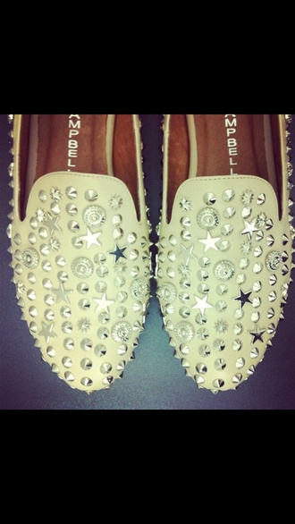 shoes jeffrey campbell studded shoes loafers
