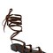 10mm gladiator suede sandals