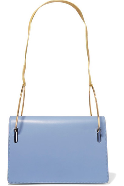 Roksanda bag shoulder bag leather blue