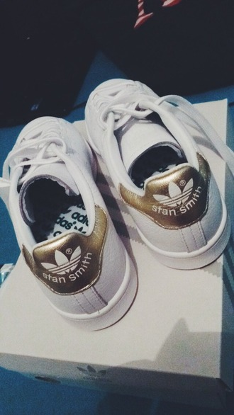 shoes adidas stan smith gold stan smith gold adidas women women shoes women adidas