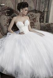 dress,wedding dress,wedding,white dress,long dress,strapless dress,corset,bustier dress,bustier wedding dress,embroidered,princess wedding dresses,princess dress