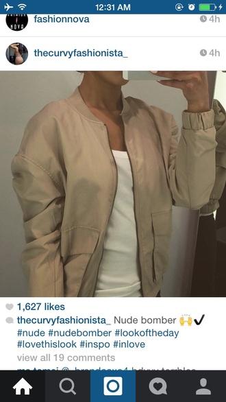coat bomber jacket mise nude chi chic