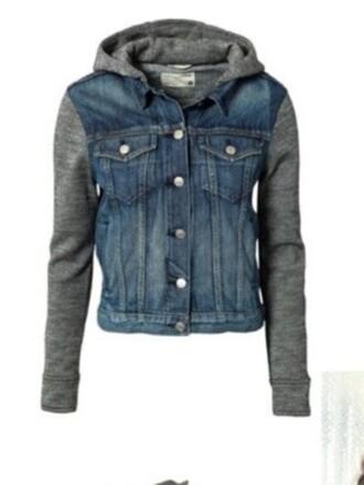 jacket jeans jacket coat cardigan