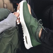 sneakers,nike,shoes,green,nike shoes,nikes,olive green