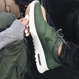 sneakers nike shoes green nike shoes nikes olive green