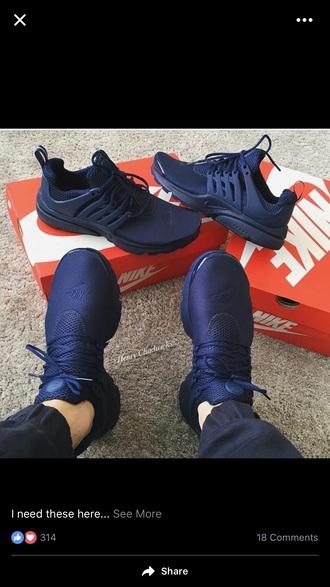 shoes navy blue nikes blue sneakers mens sneakers low top sneakers nike