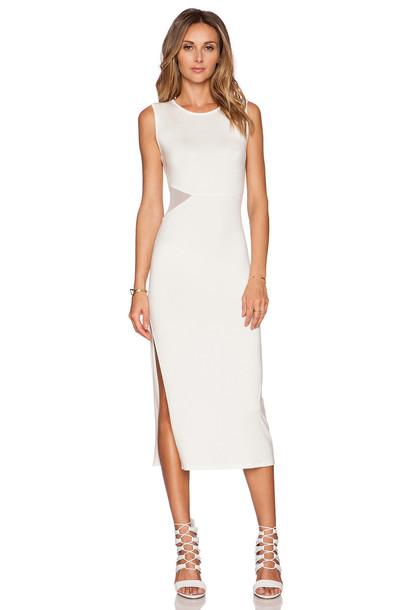 RACHEL PALLY dress mesh white