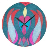 home accessory,virtual_dzines,wall clock