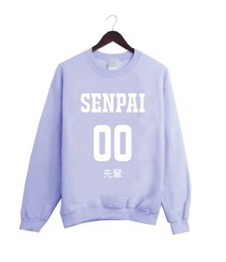 sweater kawaii fairykei harajuku pastel senpai crewneck pastel purple cute tumblr