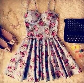 dress corset dress floral floral dress